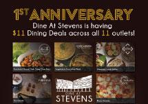 Dine at Stevens